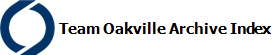 Team Oakville Archive Index